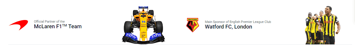 FxPro sponsorship