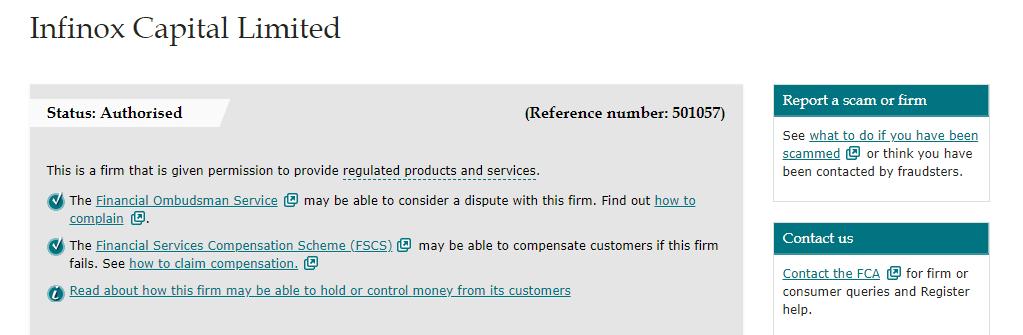 Infinox license
