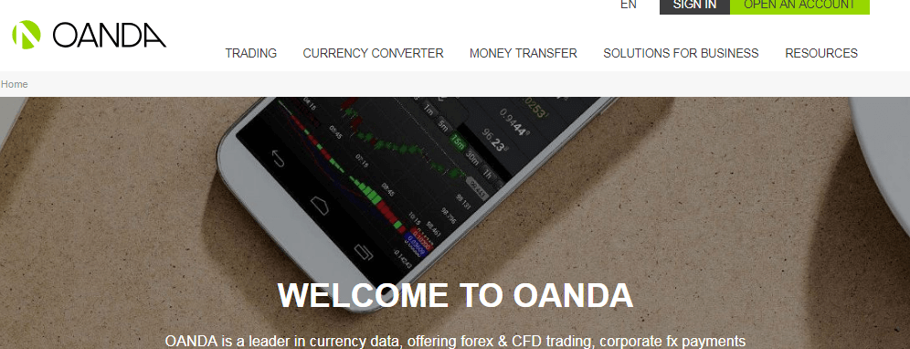 Oanda review