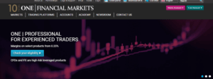One Financial Markets review