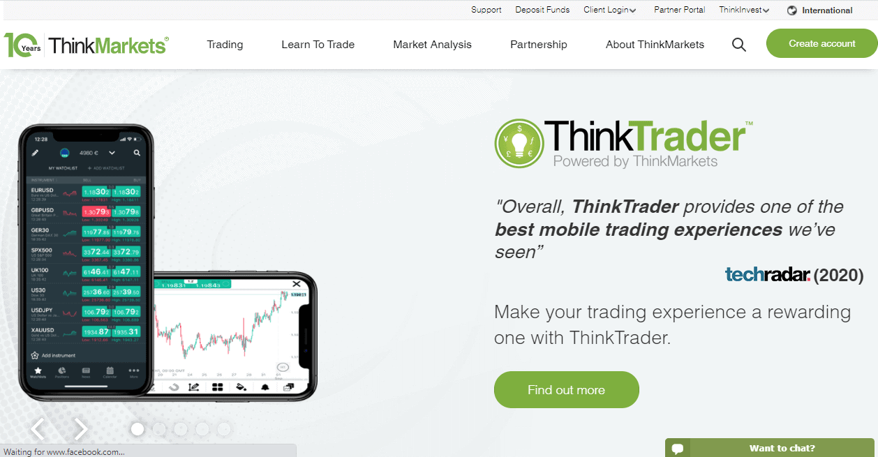 ThinkMarkets review