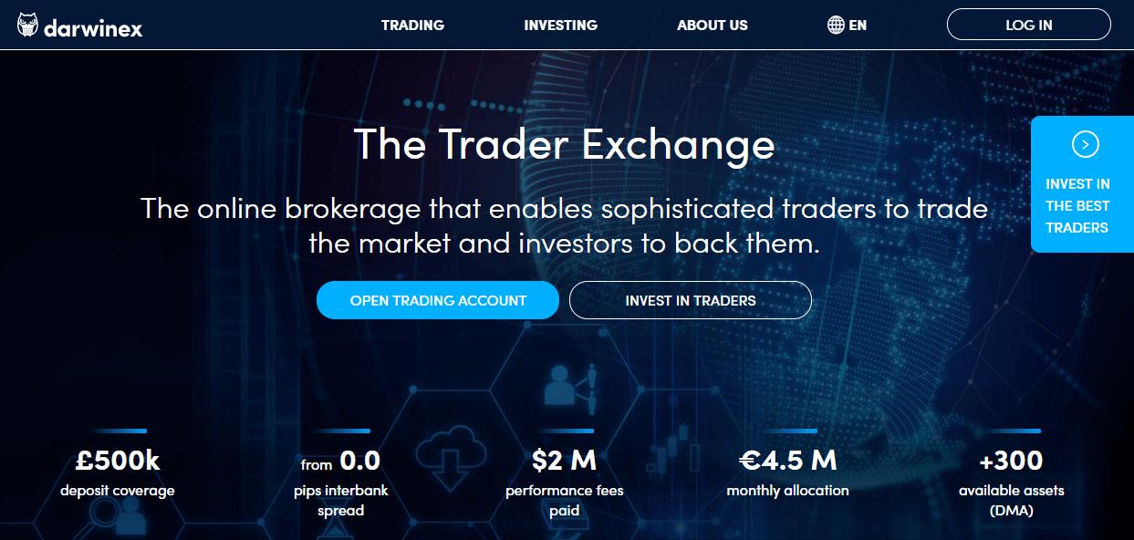 Darwinex website