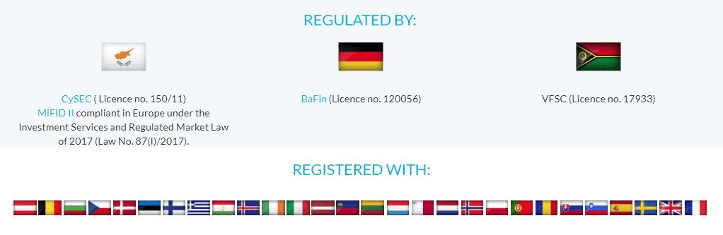 JFD Brokers regulation