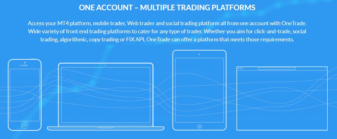 One Trade platform