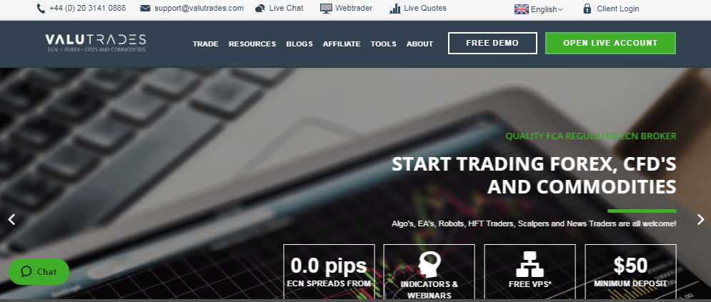 Valutrades Review