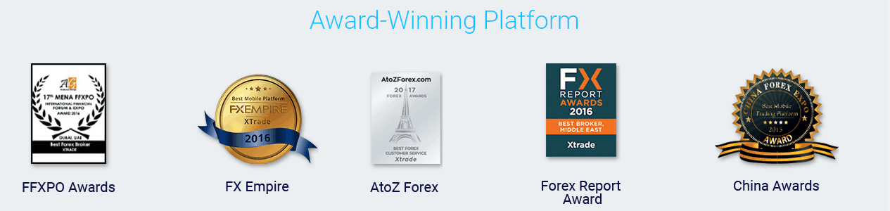 XTrade awards