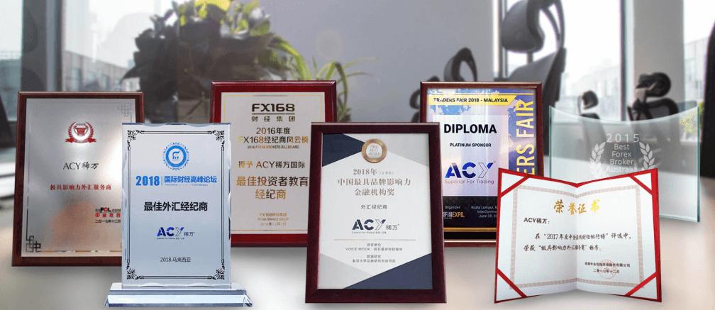 ACY Capital awards