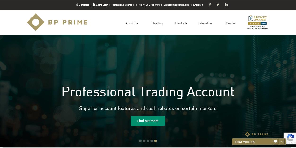 BP prime website
