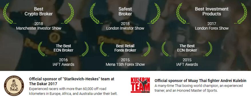 RoboForex awards