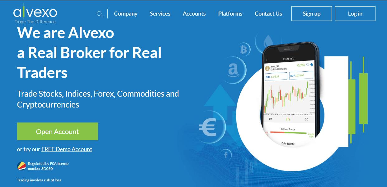Alvexo website
