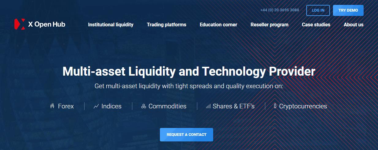 X Open Hub website