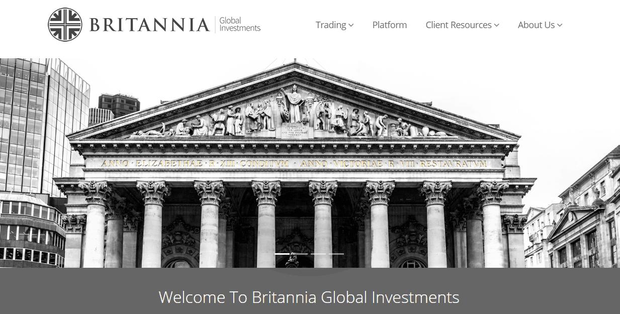 Britannia Global Investments website