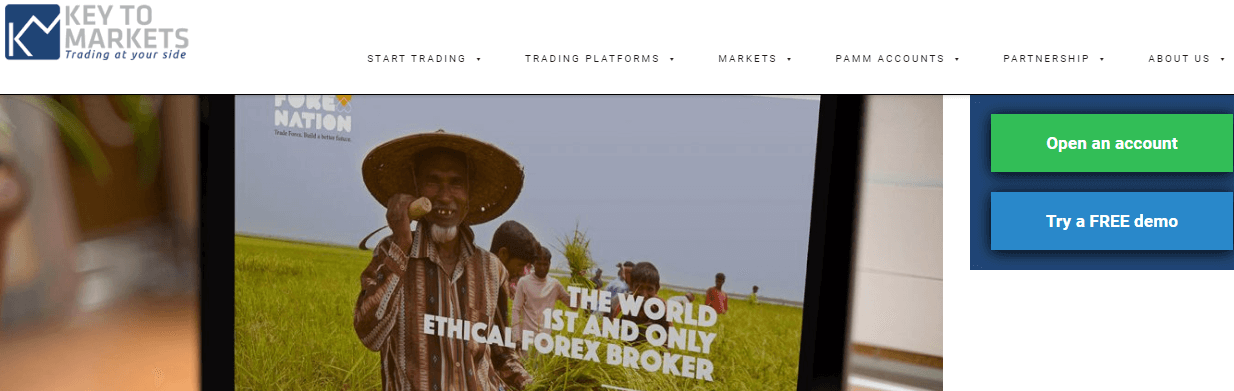 Key to Markets charity