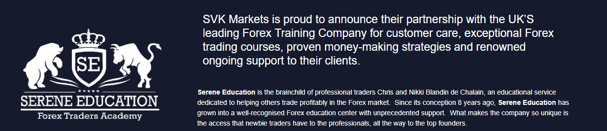 SVK Markets education