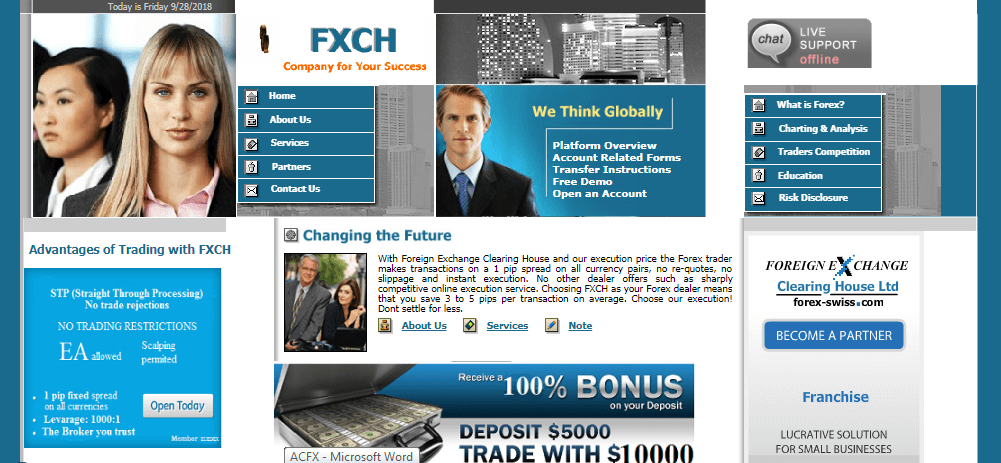 Forex Swiss FXCH Review