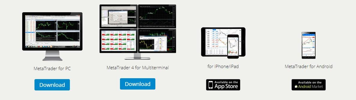 LiteForex platform