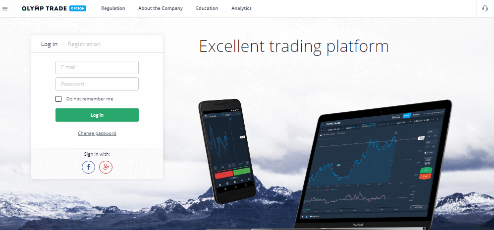 olymp trade indonesia login
