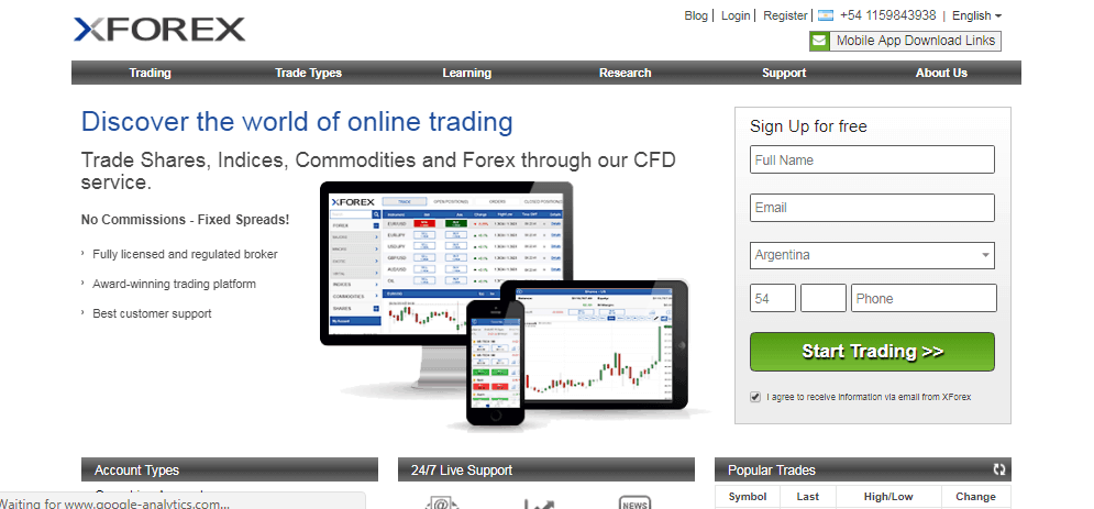 XForex Review