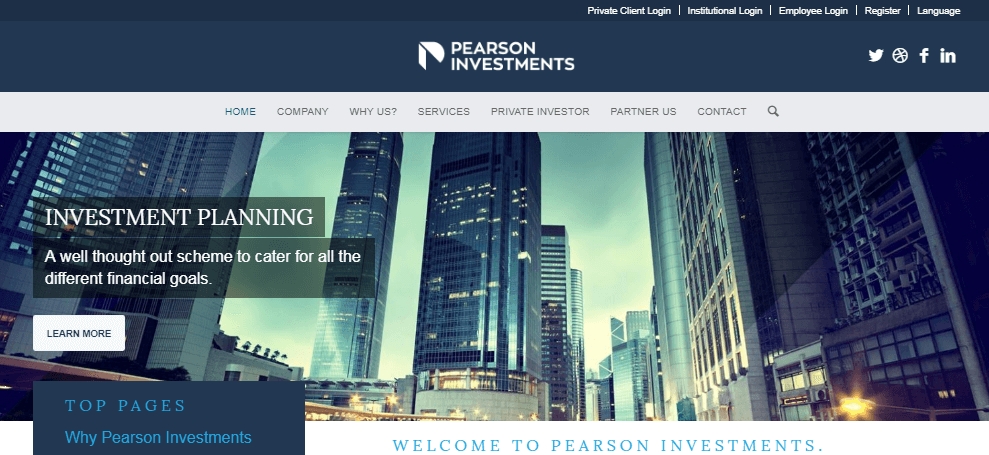 Pearson Investments Review