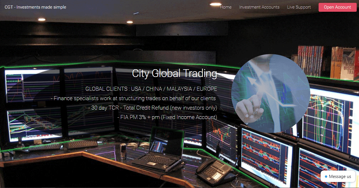 City Global Trading Review