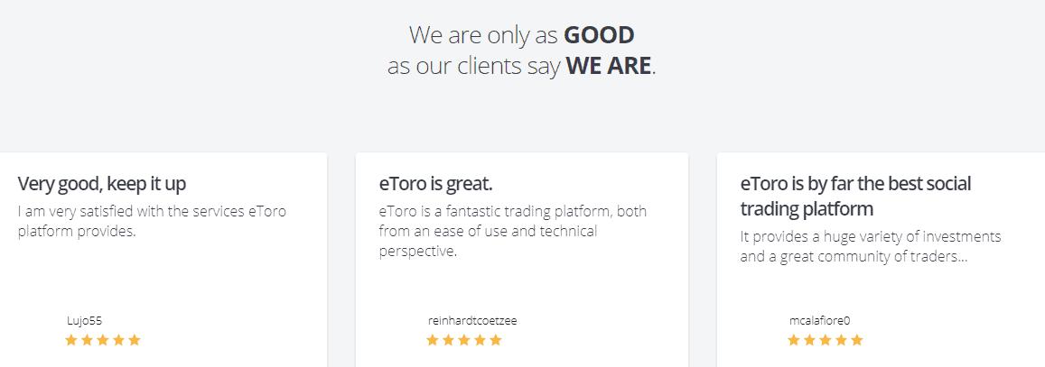 eToro awards
