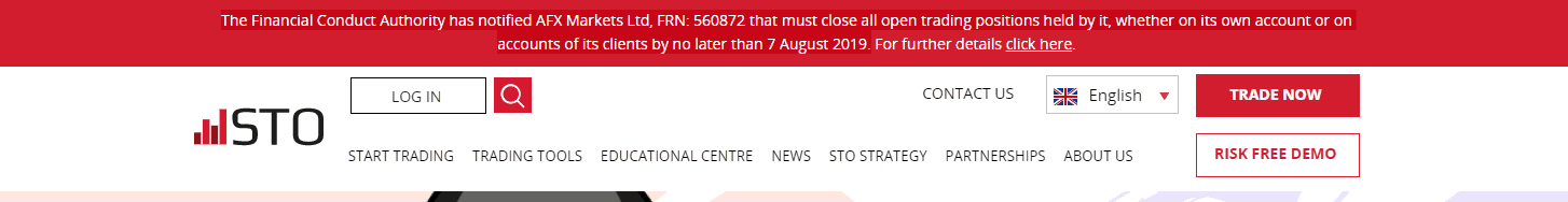 STO license susped