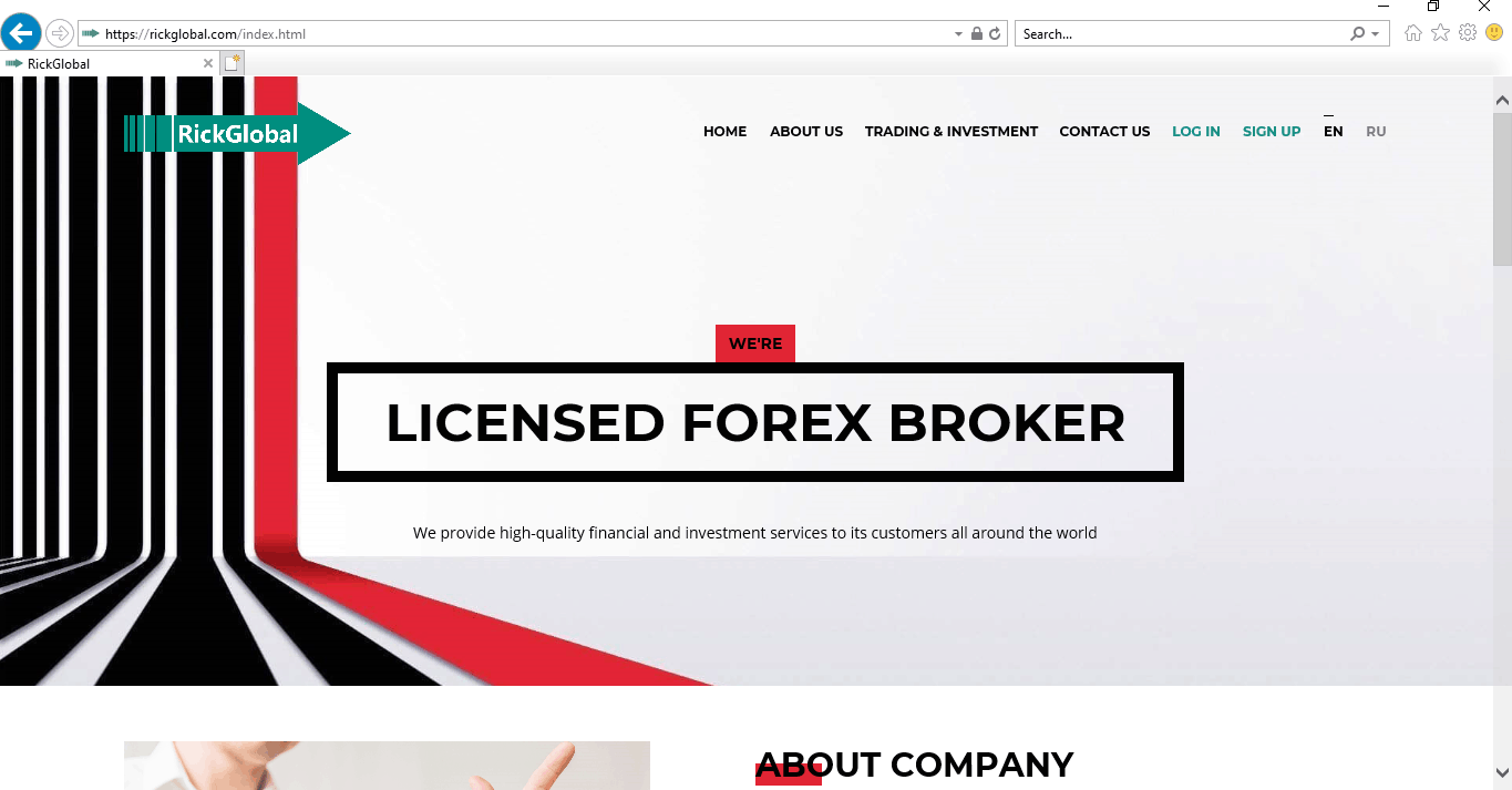 Is Rickglobal Site Safe Or Can Be Scam ?
