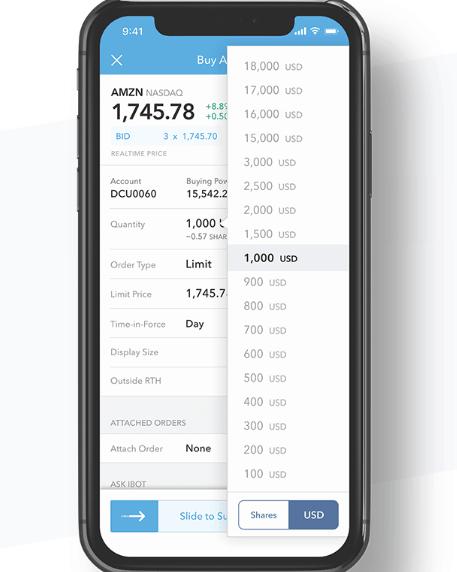 IBKR mobile trading