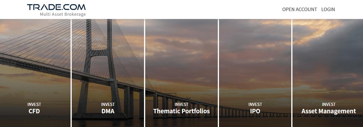 TRADE.com now is a multi-asset broker