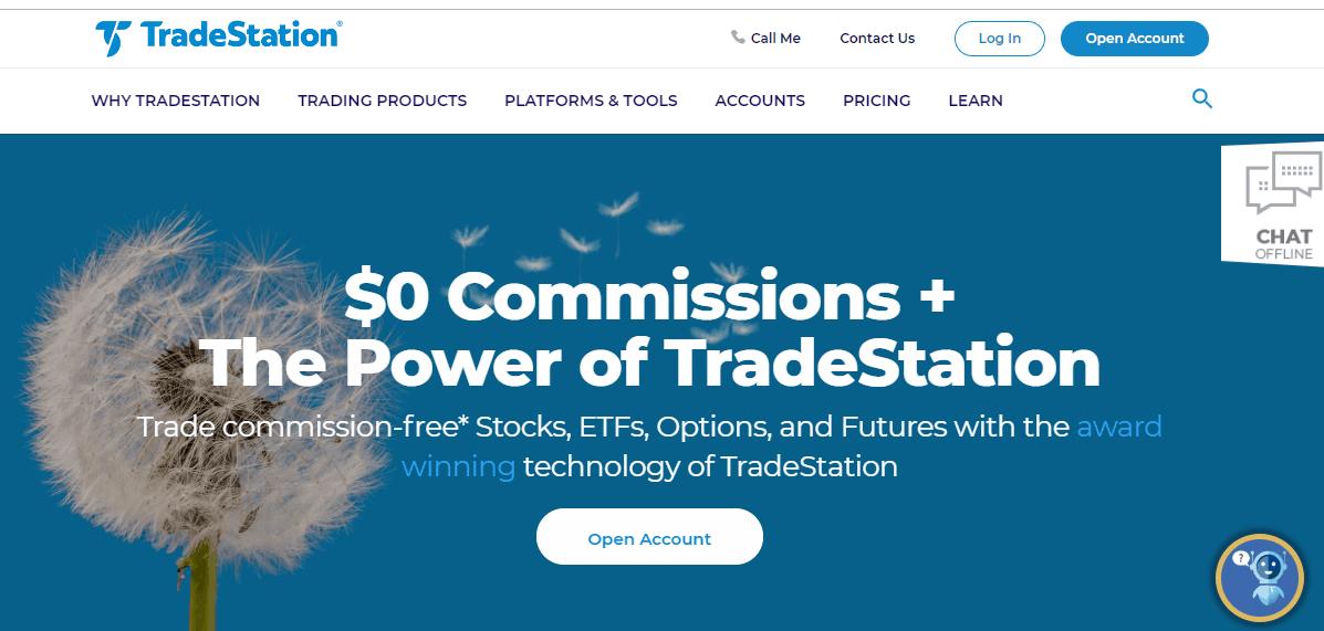 TradeStation Unlocks Zero Fee Trading