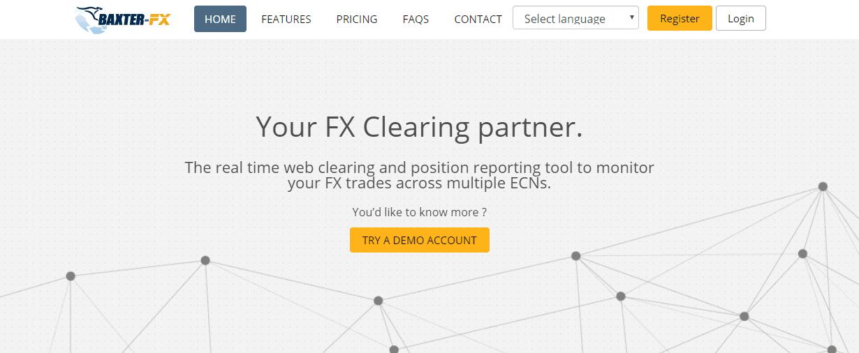 Baxter FX website