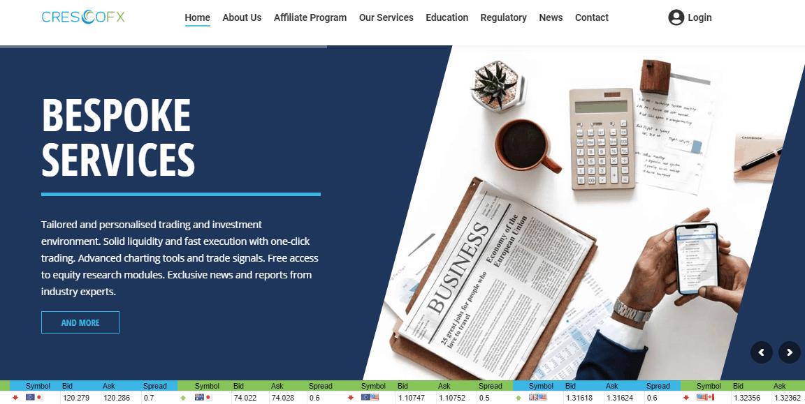 Cresco FX website