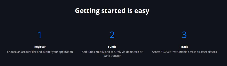 Saxo Bank account opening