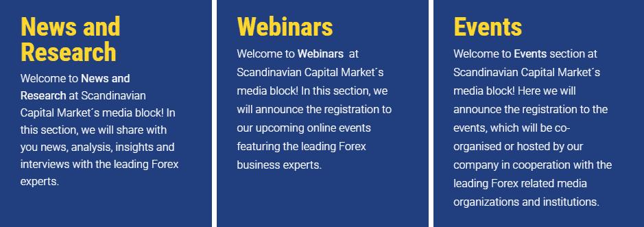 Scandinavian Capital Markets learning