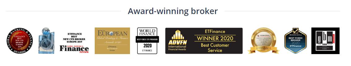 ETFinance awards