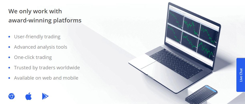 ETFinance platform