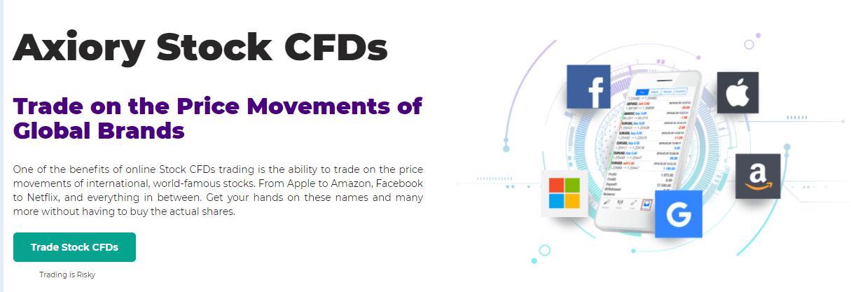 Axiory Stock CFDs