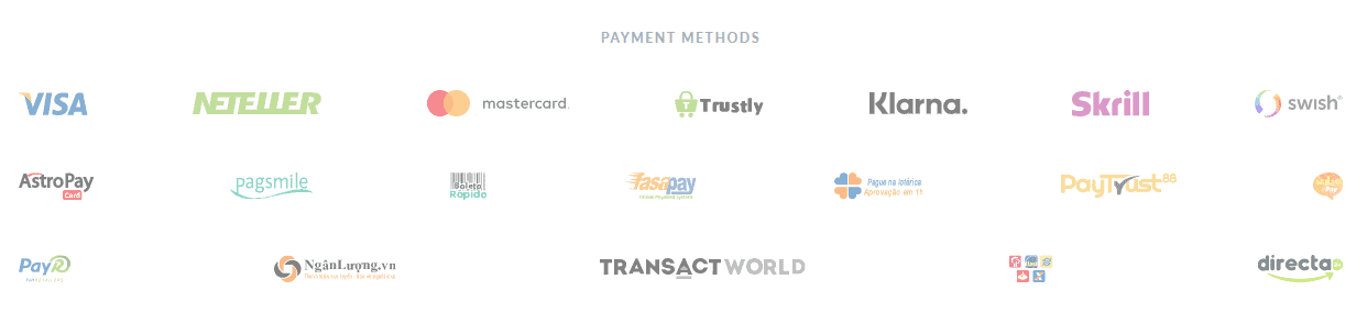 Skilling payment methods