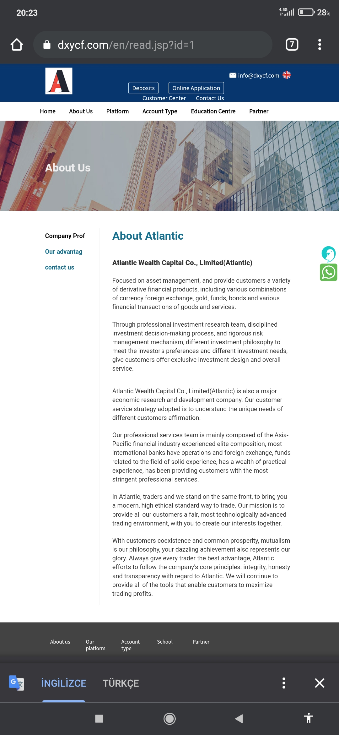 Atlantic Wealth Capital Confiscated My Money